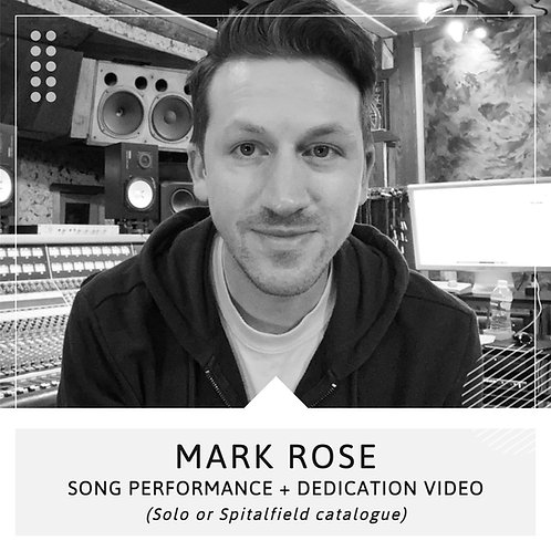 Song Performance + Dedication Video