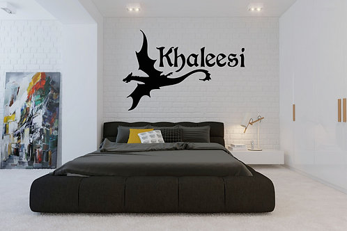 Khaleesi Mother Of Dragons Game Of Thrones Decal
