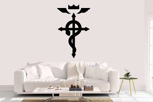 Fullmetal Alchemist Symbol Decal