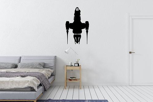Firefly Ship Serenity Inspired Design Home Wall Art Decal Vinyl Sticker