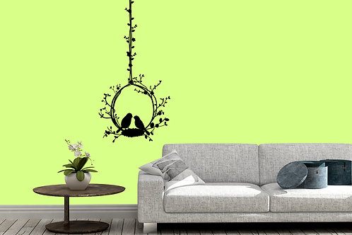 Birds In A Nest Decal