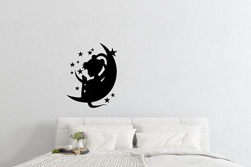 Sailor Moon Inspired Design Anime Wall Decal Vinyl Sticker