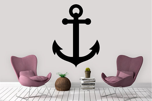 Ship Anchor Decal
