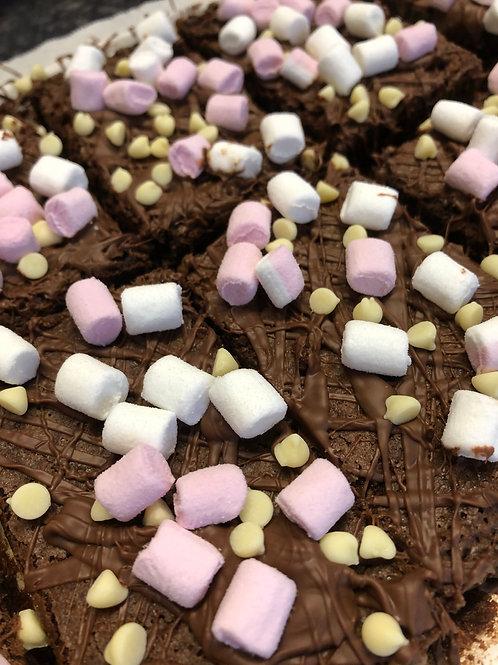 Post Box Brownies - Box of Six Mallow Munch