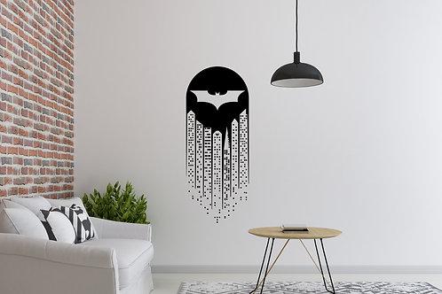 Batman Skyline Decal