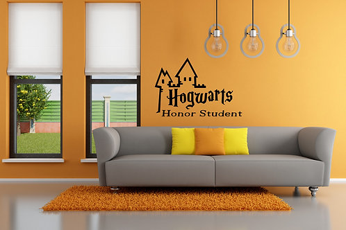 Hogwarts Honor Student Harry Potter Decal
