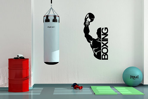 Boxing Winner Decal