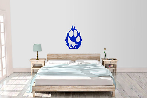 Bear Paw And Wolf Decal