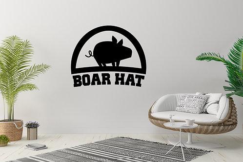 Boar Hat 7 Deadly Sins Decal