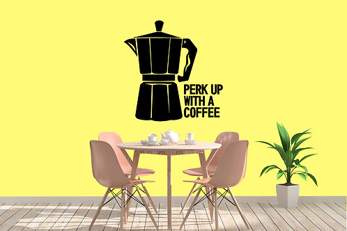 Perk Up With A Coffee Decal