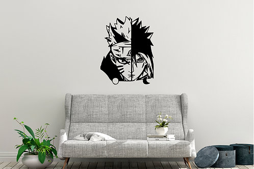 Naruto And Sasuke Decal