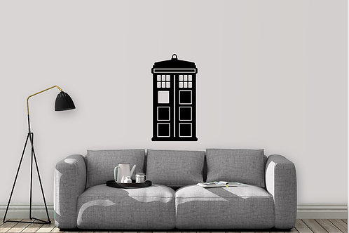 The Tardis Doctor Who Decal