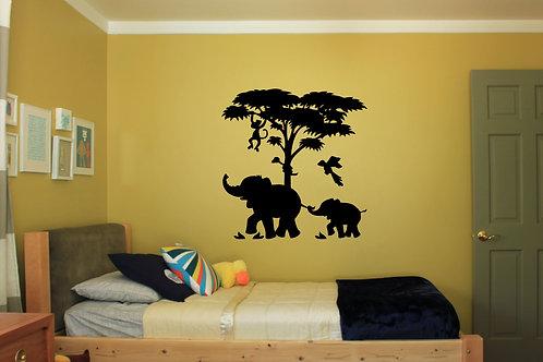 Jungle Animals Decal