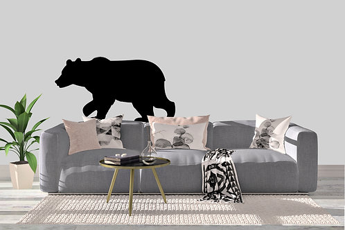 Bear Walking Decal