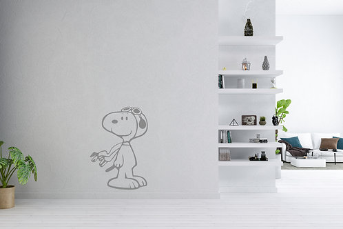 Snoopy pilot Decal