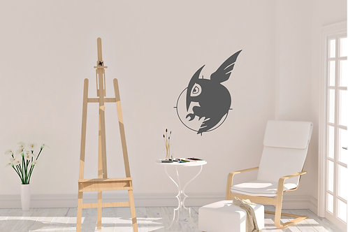 Night Raid Anime Logo Inspired Design Room Wall Decal Vinyl Sticker