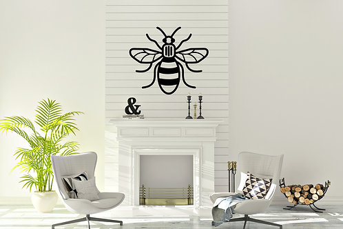 Manchester Bee Decal