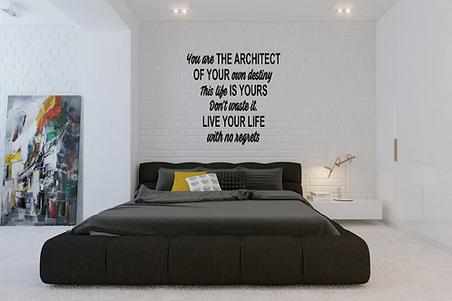 You Are The Architect Decal