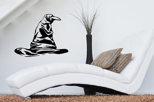 Sorting Hat Harry Potter Decal