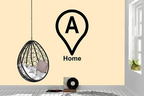 Home Start Marker Decal