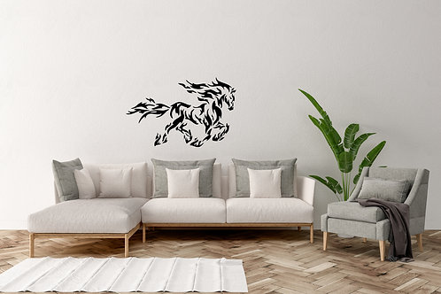 Fire Horse Decal