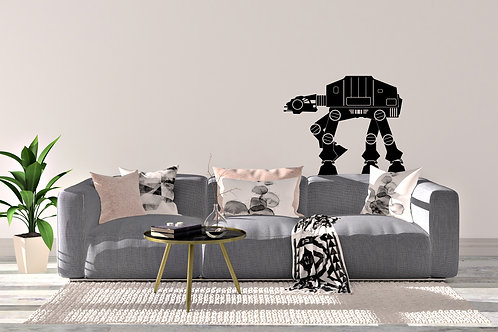 At At Star Wars Walker Home Wall Art Decal Vinyl Sticker