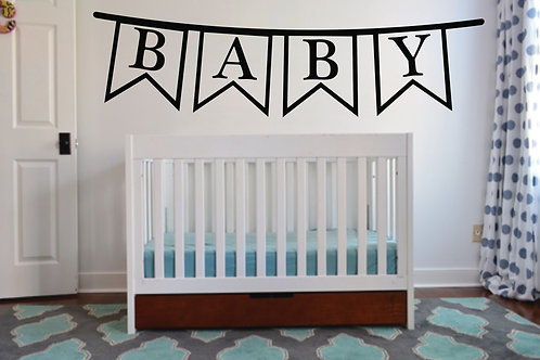 Baby Bunting Decal
