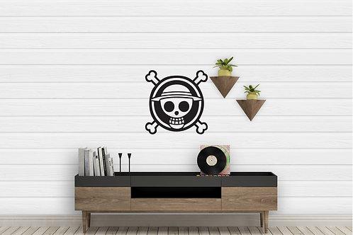 One Piece Flag Logo Decal