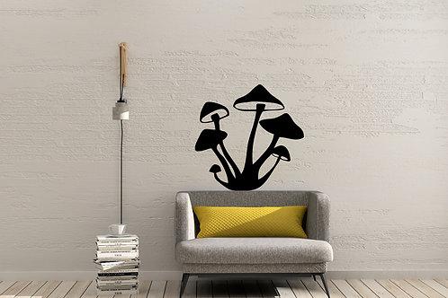 Shrooms Mushroom Decal