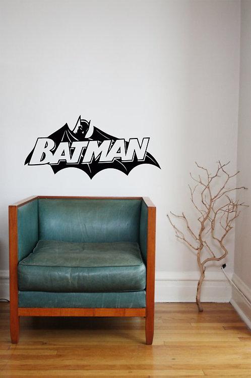 Batman Cape Decal