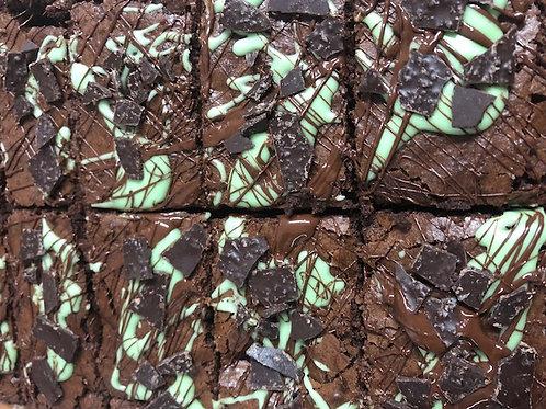 Post Box Brownies - Box of Six Mint Madness