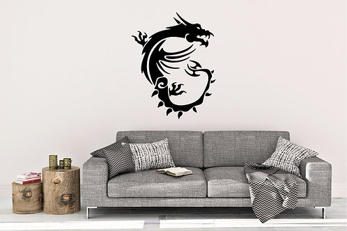 MSI Dragon Decal