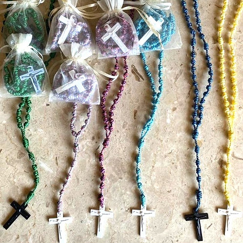 Traditional Cord Rosary (Multi-Colors)