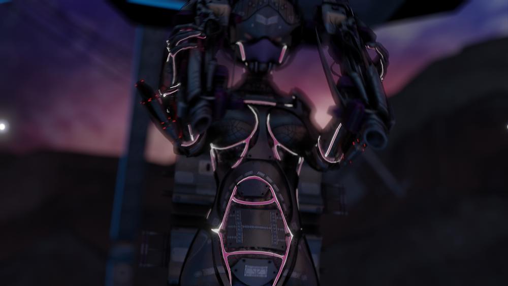3d techsuit female