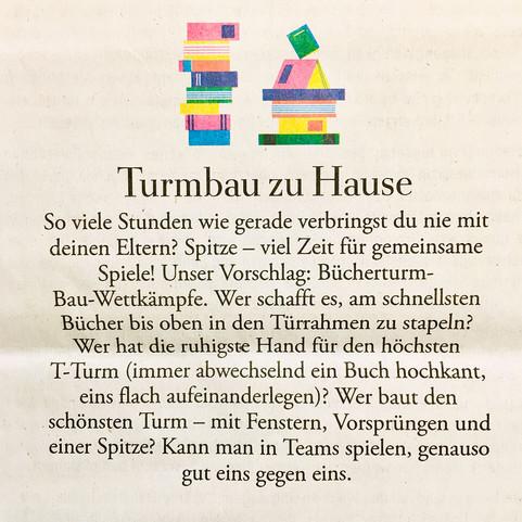 """Aus """"Die Zeit"""" Ausgabe Nr.15   2. April 2020"""