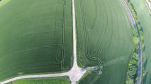 Lufaufnahmen von Landwirtschaft Krause