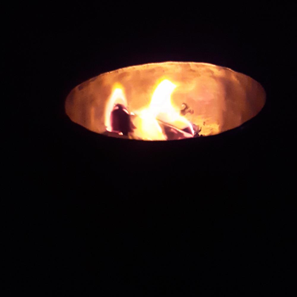 Full moon Reiki Burn Bowl