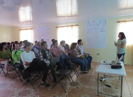 Calameños participaron en Taller Comunitario para el diseño arquitectónico del Centro de Entrenamien