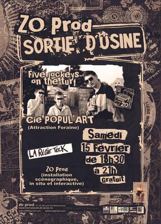 Popul'art Et ZO Prod (La Régie Tek) 2011