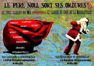 Le Père Noël Sort Ses Ordures ! 2017