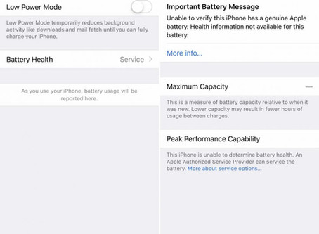 Apple Using iOS To Discourage Third-Party Repair