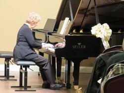 Liesl plays at PianoWorks 2018