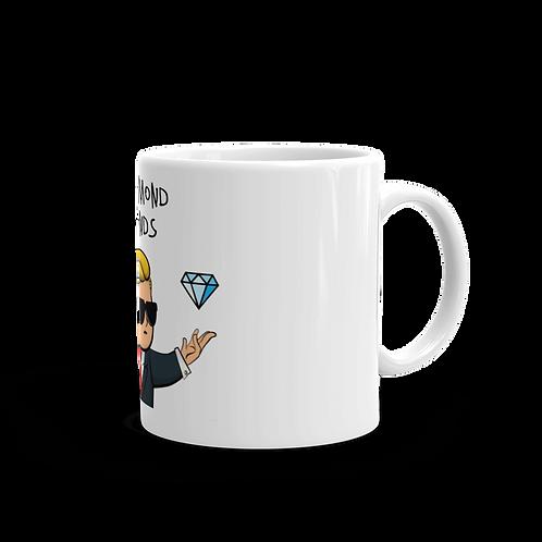 Taza Desayuno Diamond hands