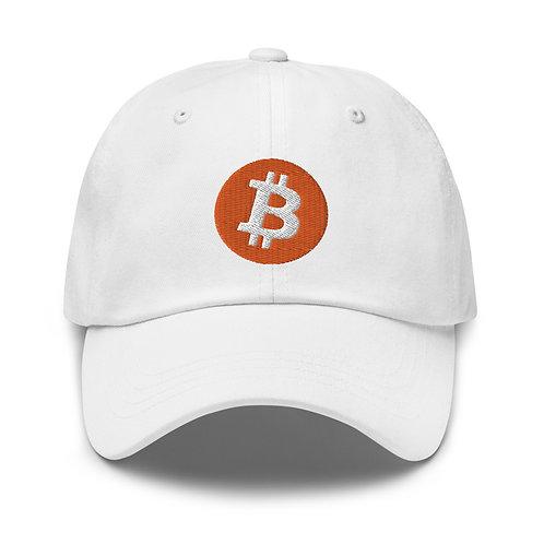 Gorra Baseball Bitcoin - Laser Eyes