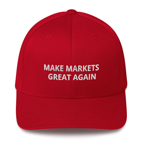 Gorra Baseball Estructurada - Make Markets Great Again