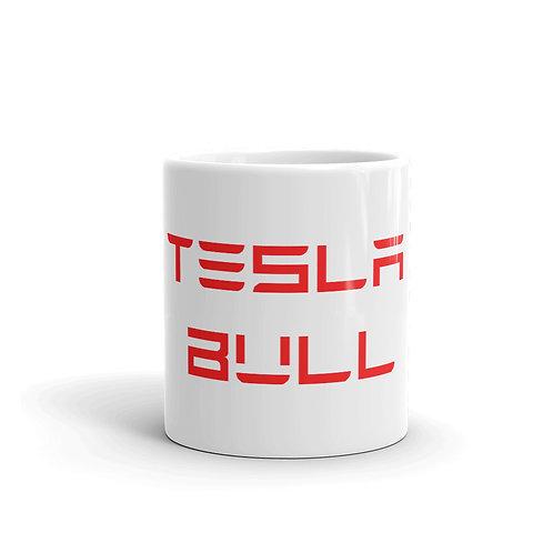 Taza Tesla Bull