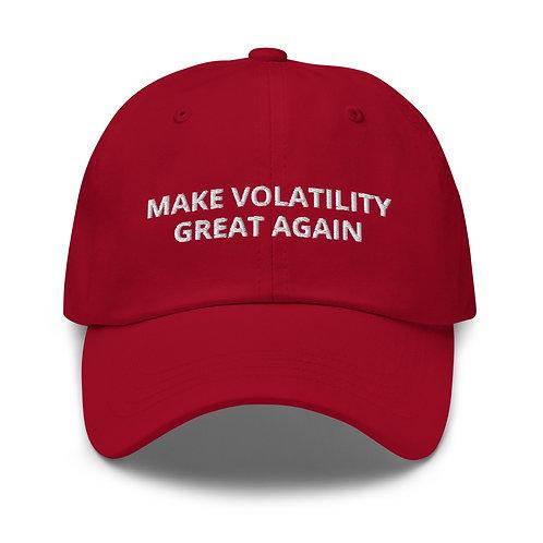 Gorra Béisbol - MAKE VOLATILITY GREAT AGAIN