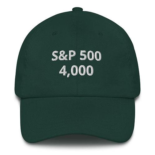 Gorra Baseball - S&P 4,000