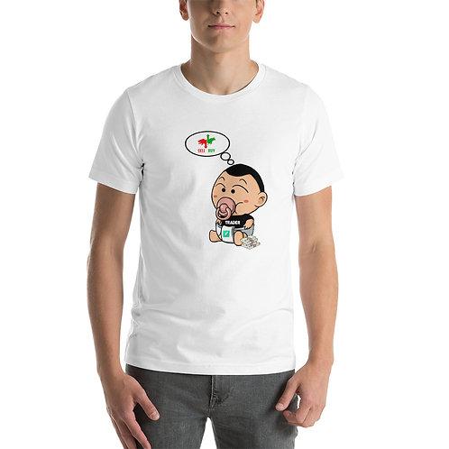 Camiseta corta Unisex - Sentimiento de mercado