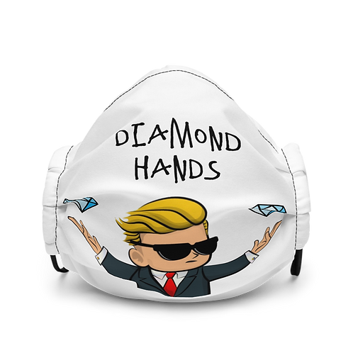 Mascarilla premium - Diamond hands